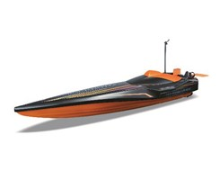 Hydro Blaster Speed Boat R/C 27/40Mhz black/orange