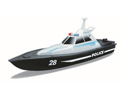 Speed Boat - Police R/C 13,4'' (USB Ver.) 2.4GHz