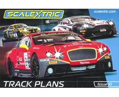 Scalextric Track Plans Book (10th Edition)