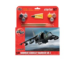 Starter set Hawker Harrier GR1