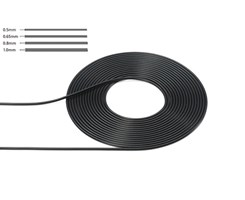 Cable Outer Diameter 0,5mm Black
