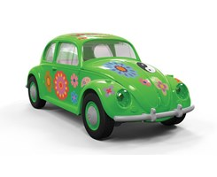 Quick Build VW Beetle Flower-Power