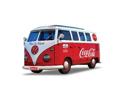 Quick Build Coca-Cola VW Camper Van