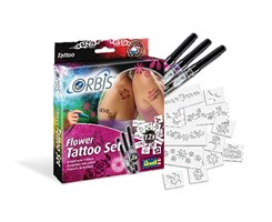Flower Tattoo Set