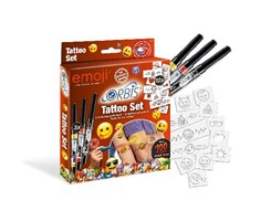 "Tattoo Set ""Emoji"""
