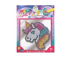 Sequin Art Easy Unicorn 17x17cm