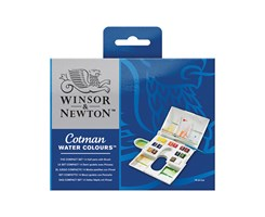 Cotman Watercolour set